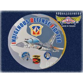 空軍1聯隊IDF  MLU版滑鼠墊(圓)