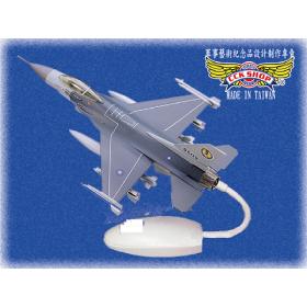 空軍 塑鋼戰鬥機模型 戰隼 F-16 (1:58)
