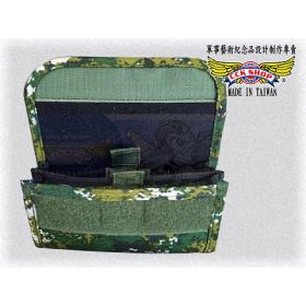 3C 專利 雙手機袋 腰袋 迷彩/黑色 (小)